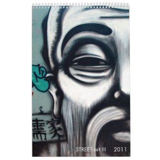 (TBA) STREET art III calendar