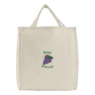 TBA* Sweet Pickings Purple Grapes Grocery Bags