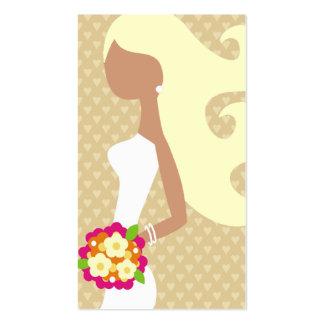 TBA WINNER-FASHION BRIDE INTERCHANGEABLE HAIR BUSINESS CARD