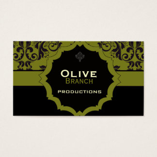 <TBA WINNER>Olive Juice Business Card