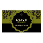 <TBA WINNER>Olive Juice Double-Sided Standard Business Cards (Pack Of 100)