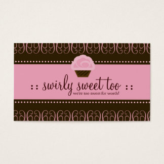 TBA WINNER SWIRLY SWEET TOO BUSINESS CARD