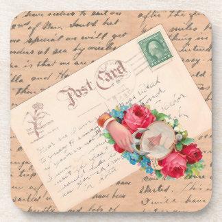 TBA Winner Vintage Mail Coaster