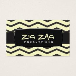 TBA Winner Zig Zag Business Card