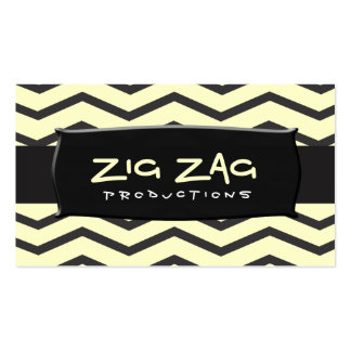 TBA Winner Zig Zag Business Cards