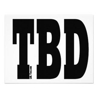 TBD INVITACION PERSONALIZADA