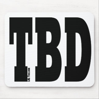 TBD MOUSE PAD