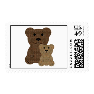 TBD ~ Two Bears ~ Design Postage Stamps