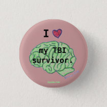 TBI awareness button