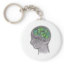 TBI Awareness Keychain