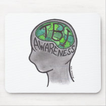 TBI Awareness Mouse Pad