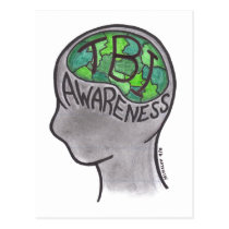 TBI Awareness Postcard