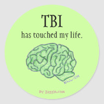 TBI awareness sticker