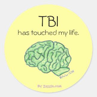 TBI awareness sticker