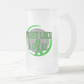 TBI Fight Like A Girl Circular Coffee Mugs