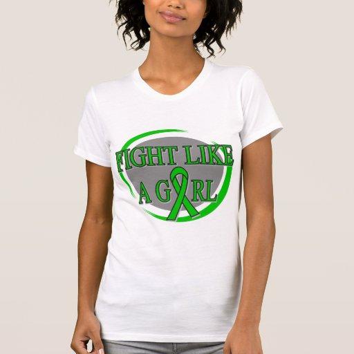 TBI Fight Like A Girl Circular Shirts