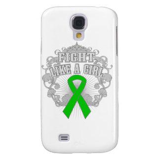 TBI Fight Like A Girl Fleurish Samsung Galaxy S4 Cover