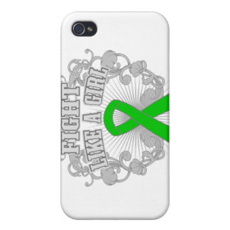 TBI Fight Like A Girl Fleurish iPhone 4/4S Covers