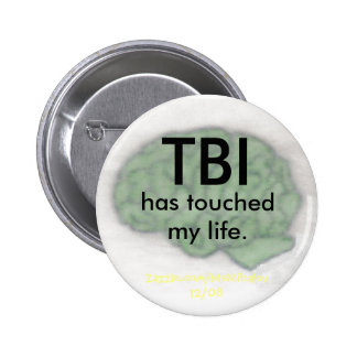 """""""TBI has touched my life"""" button"""