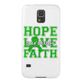 TBI Hope Love Faith Survivor Galaxy S5 Cases