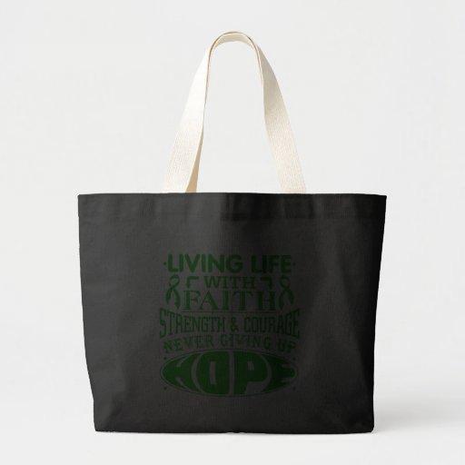 TBI Living Life with Faith Canvas Bags