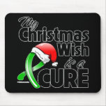 TBI My Christmas Wish is a Cure Mouse Pad