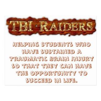 TBI Raiders Postcard