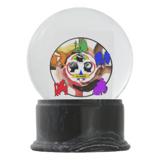 TBI Raiders Snow Globe
