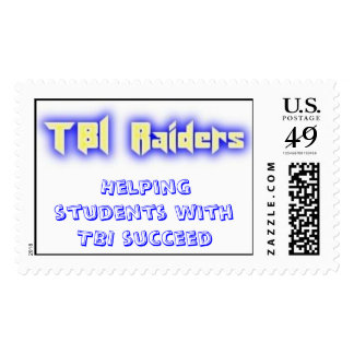 TBI Raiders Stamp