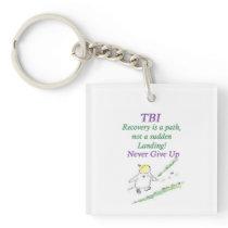 TBI Recovery KeyChain
