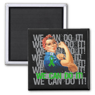 TBI Rosie WE CAN DO IT 2 Inch Square Magnet