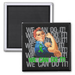 TBI Rosie WE CAN DO IT Magnet