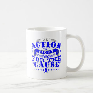 TBI Take Action Fight For The Cause Coffee Mug
