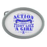 TBI Take Action Fight Like A Girl v2 Belt Buckles