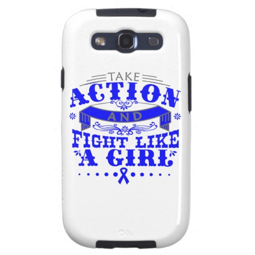 TBI Take Action Fight Like A Girl v2 Galaxy SIII Covers