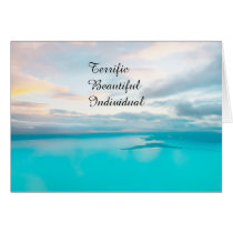 TBI Terrific Beautiful Individual Card