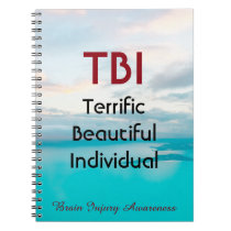 TBI Terrific Beautiful Individual Notebook