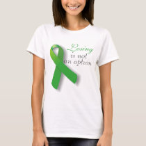 TBI Traumatic Brain Injury Losing Is not an Option T-Shirt