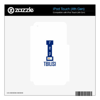 Tbilisi design decals for iPod touch 4G