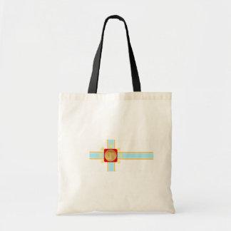 Tbilisi, Georgia flag Canvas Bag