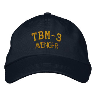 TBM-3 AVENGER EMBROIDERED BASEBALL CAP