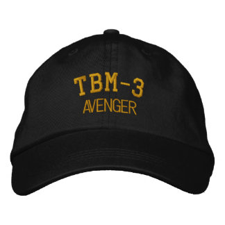 TBM-3 AVENGER EMBROIDERED HAT