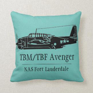 TBM Avenger Throw Pillow