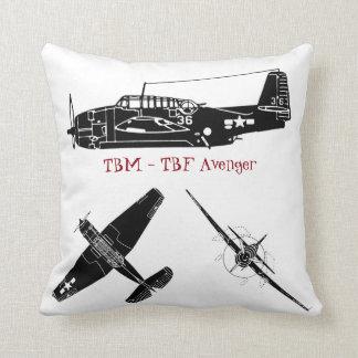 TBM Avengers Throw Pillow