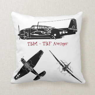 TBM Avengers Throw Pillows