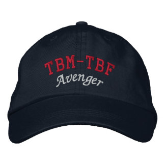 TBM-TBF AVENGER EMBROIDERED BASEBALL CAP