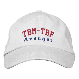 TBM-TBF AVENGER EMBROIDERED BASEBALL CAP
