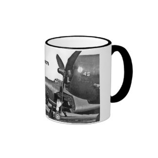 TBM's on tarmac, The Avengers Ringer Coffee Mug