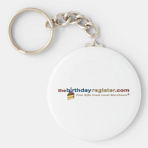TBRHZT logo w slogan  600 Basic Round Button Keychain