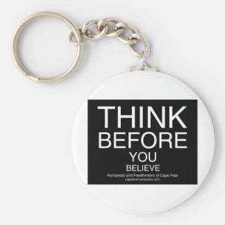 TBYB - Humanists Keychains